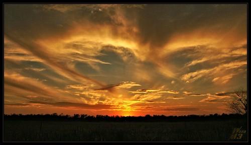 sunset sky nature clouds texas horizon houston a700 sonya700 wanam3 elfrancoleepark