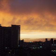 """Martian"" Sunset over Okubo"