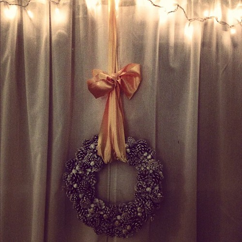 I hung a wreath or two...