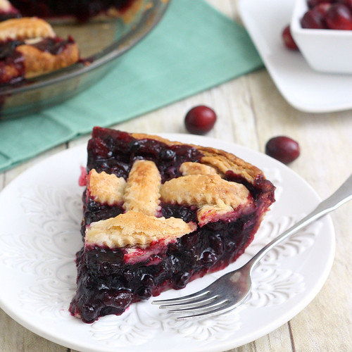 Cranberry and Wild Blueberry Pie | Tracey's Culinary Adventures