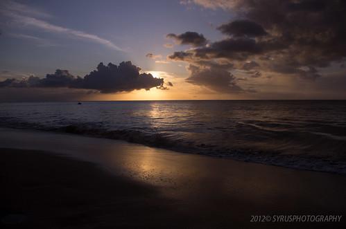 sunset soleil plage guadeloupe gwada basseterre
