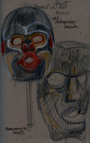 Vancouver: UBC MOA giant masks