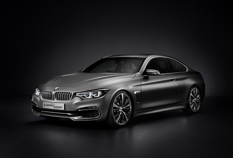 BMW 4 SERIES FRONT AND SIDE
