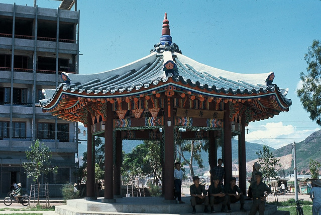 Korean Pagoda - Downtown Qui Nhon 1968