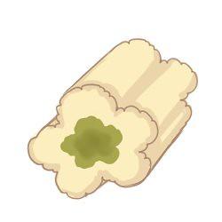 抹茶口味的棉花糖