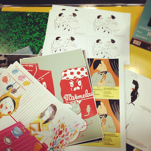 Printing pre Salon! by la casa a pois