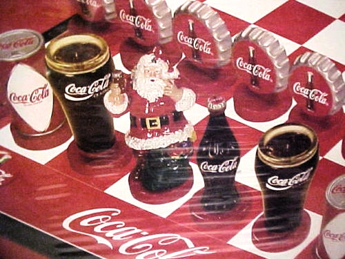 Coca cola company chess game santa c flickr