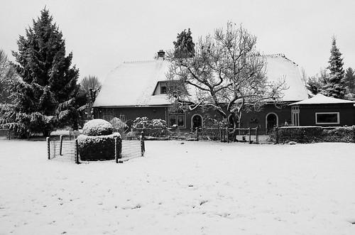Sneeuw in de straat-5