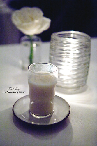 Malted vanilla egg cream