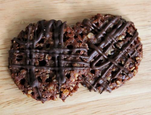 Pecan-Cocoa Nib Florentines