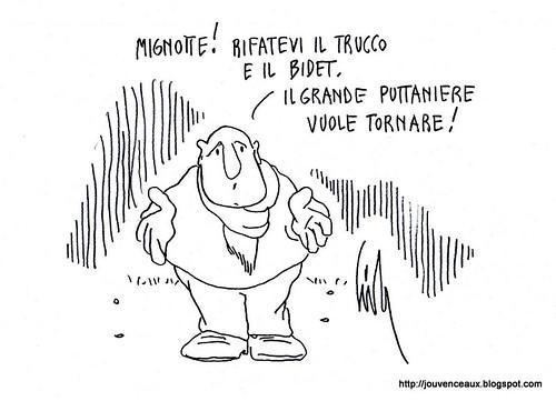 Il Grande Puttaniere vuole tornare by Livio Bonino