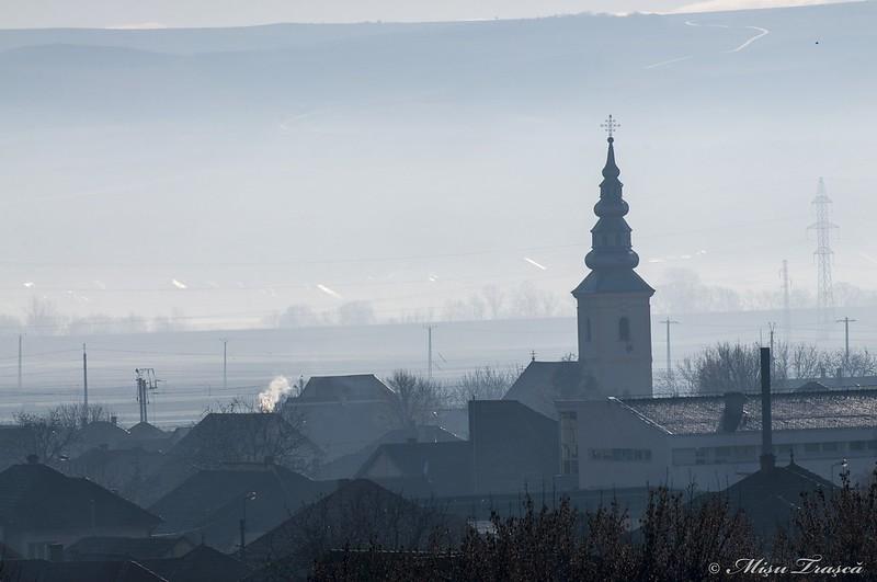 in ceață