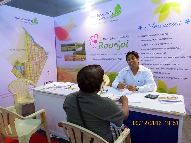 Pune Property Exhibition - Sakal Vastu - Property Expo - December 2012 - 21
