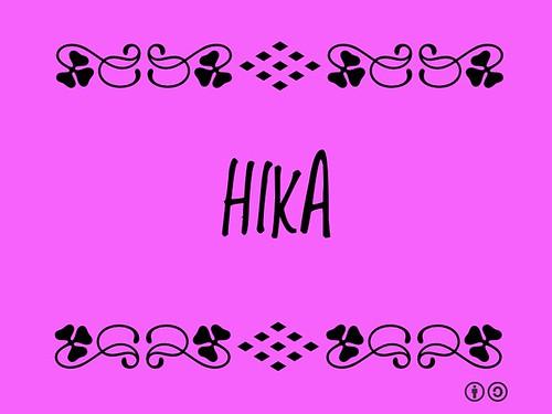 Buzzword Bingo: Hika