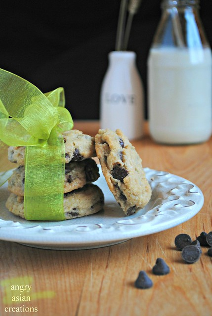 NYT Chocolate Chip Cookies {vegan}