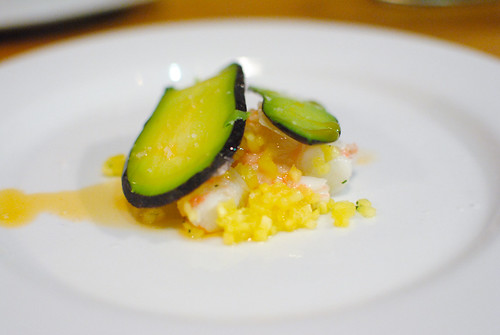 Prawns, Avocado, Pineapple, Shrimp Oil