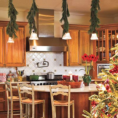 Ideas para decorar la cocina en navidad for Kitchen ideas for christmas