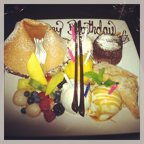 Sure we can celebrate my birthday a week early - thanks coworkers! #dessert #food #nyc #newyork #tao