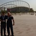 Rick and Enrico at Aspire Zone  (Doha Sports City)