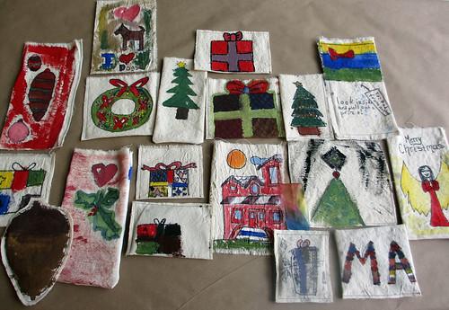 painting papier mache
