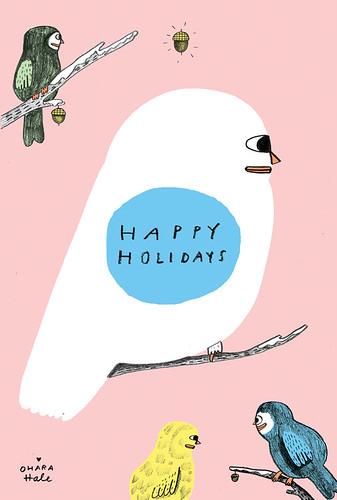 HAPPY HOLIDAYS 2012 xo OHARA HALE by Ohara.Hale