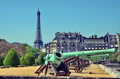 Eiffel Tower from l'Esplanade des Invalides