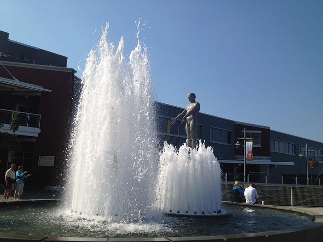 Father and Son fountain
