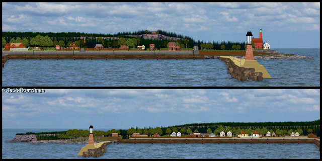 The Port of Danger Bay Minnesota Redux ©2012-13 Jack Boardman