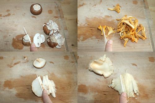 16 - Pilze schneiden / Cut mushrooms