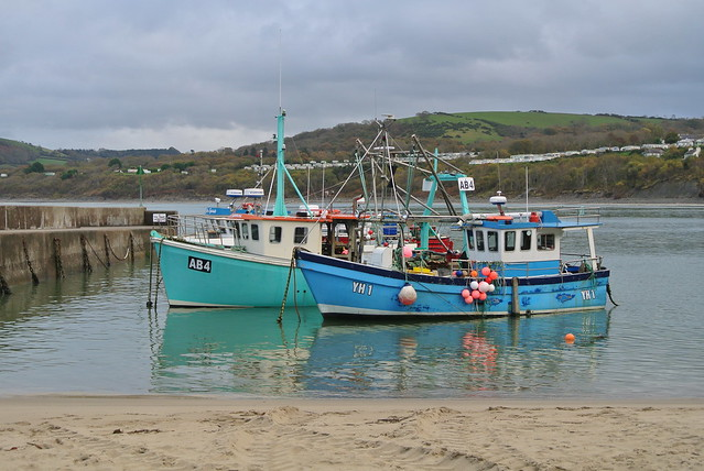 Fishing boats, New Quay, Wales