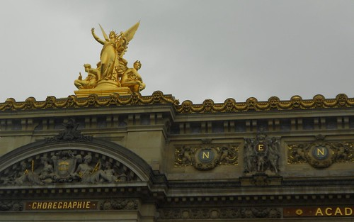 On top of the Palais Garnier