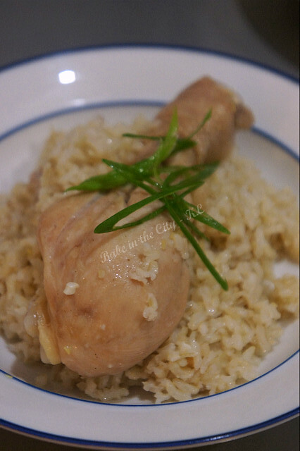 One-Pot-Rice-Cooker Chicken Rice