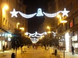 Santander encenderá esta tarde el alumbrado navideño para dinamizar el centro e impulsar la actividad del comercio minorista de la ciudad