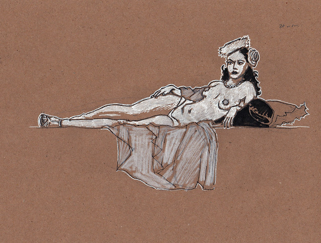 Dr Sketchy's DC with Cherie Sweetbottom 2