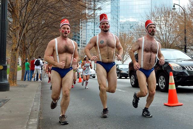 Atlanta Santa Speedo Run 2012