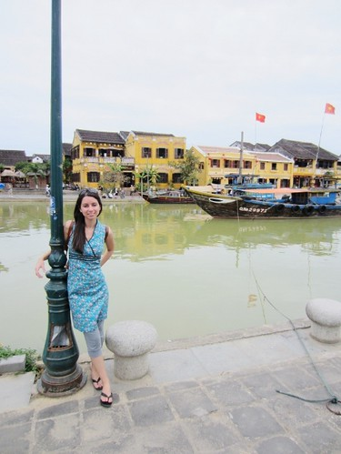 In Hoi An, Vietnam