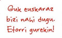 euskaraz bizi - GUREKIN