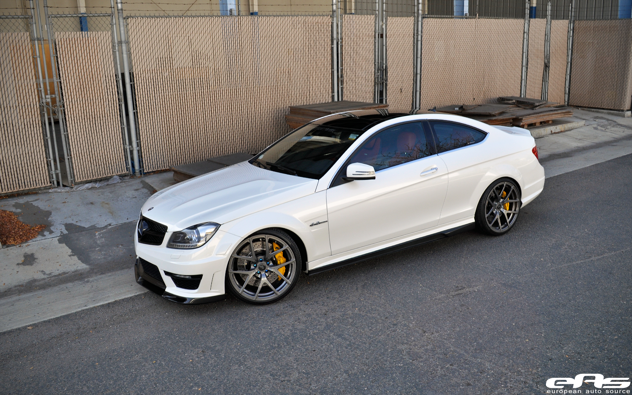 Mercedes benz c63 amg performance parts for Mercedes benz racing parts