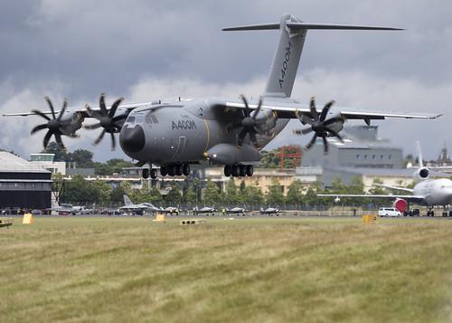 Farnborough United Kingdom Picture : EC-406_A400M_EGLF_5841