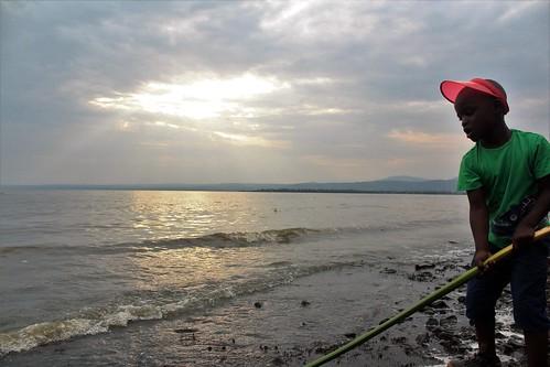africa kenya kisumu lake victoria sunset