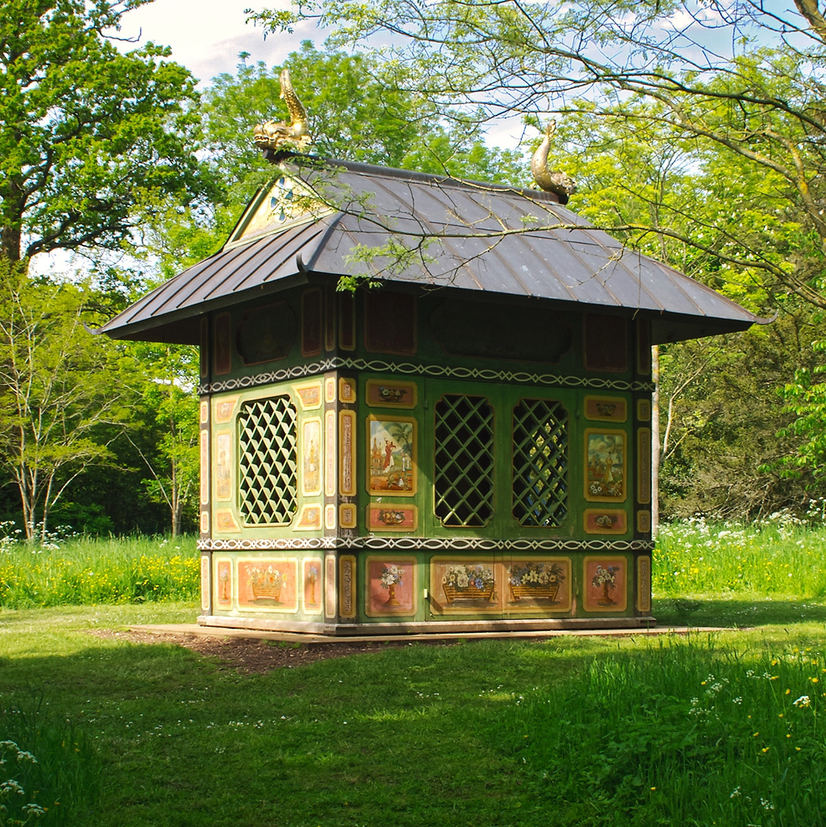 Chinese House, Stowe Landscaped Gardens, Buckinghamshire, England