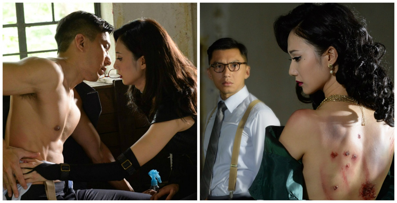 王君馨露背,袁偉豪曬胸,對年輕男女觀眾而言,很是吸引!(facebook圖片)
