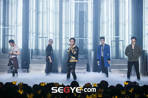 Big Bang - Mnet M!Countdown - 07may2015 - Segye - 01