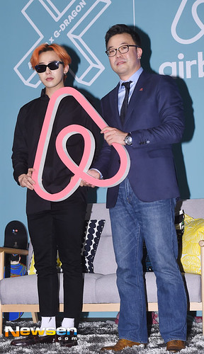 G-Dragon - Airbnb x G-Dragon - 20aug2015 - Newsen - 12