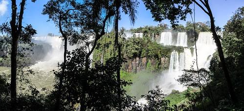 Les chutes d'Iguazu: el circuito inferior