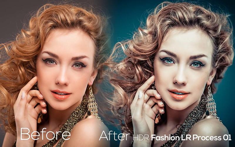 HDR Fashion LR Process 1