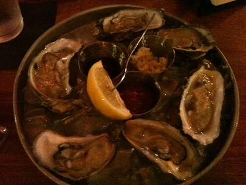 """Seaside Salts"" Oysters at Big Easy, Norfolk"