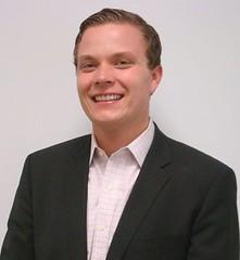 Image of Hakon Bjerke MA '12 during his internship at JP Morgan