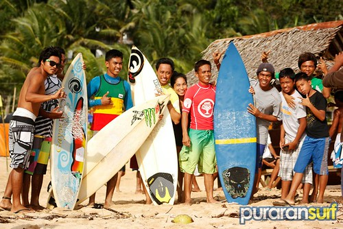 Majestic Puraran Surfing Cup 2012 competitors