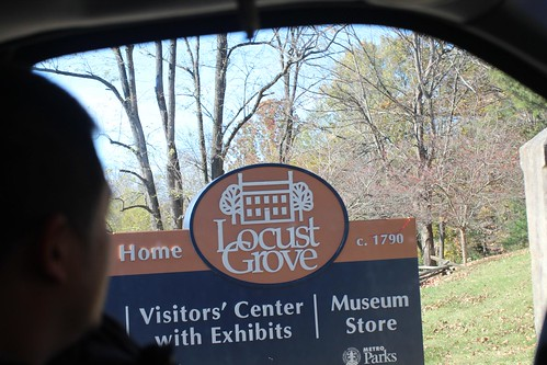 Day 91: The Historic Locust Grove House.